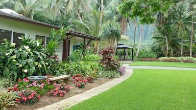 Lovely garden outside your unit