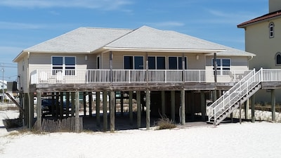 All that space on the back deck to see the beach