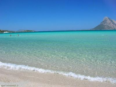 San Teodoro Lagoon, San Teodoro, Sardinia, Italy