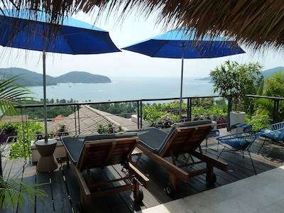 View of Zihuatanejo Bay from Deck