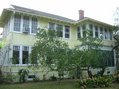 This home was built in 1916. 103 years old now. Fun old home. Lots of windows