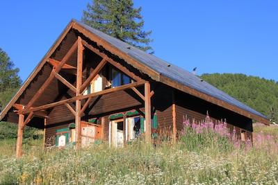 Melezets Ski Lift, Risoul, Hautes-Alpes, France