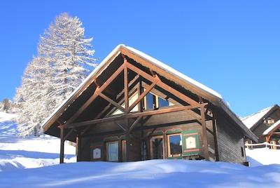 Pre du Bois Ski Lift, Risoul, Hautes-Alpes, France
