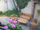 Jardinet côté patio