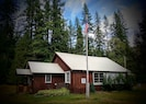Historic Sylvanite Schoolhouse. Started in 1897.  This Structure was built 1945.