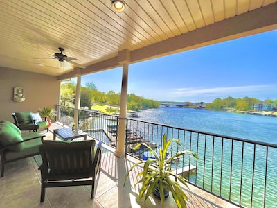 Soak in the beautiful sunsets from your oversized private balcony