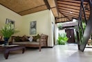 Tropical 2BR Bungalow, 300m to beach