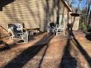 Deck outside kitchen. 12' x  28 '