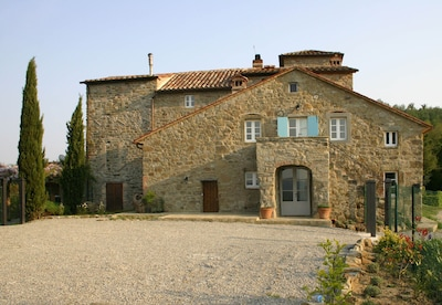 800 year old Casaccia