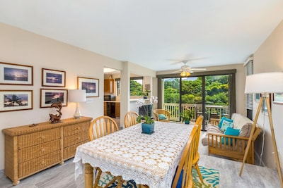 Dining Area, Living Room, Kitchen and Lanai in Distance