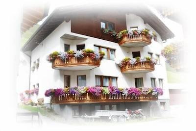 Samnaun-Laret, Graubuenden, Switzerland