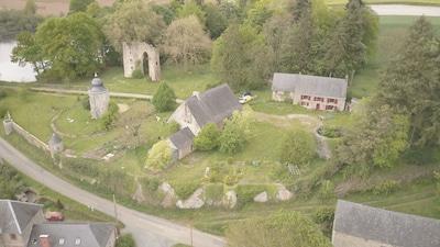 Saint-Martin-de-Connée, Vimartin-sur-Orthe, Mayenne, Frankrijk