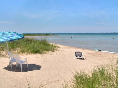 2020 update: This is old photo, we have lost most of our beach b/c high water