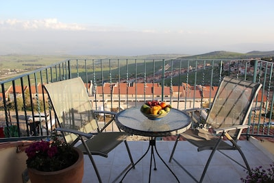 Sit and enjoy amazing  panorama view of Sea of Galilee! Unique and relaxing!!!