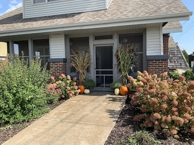 Screened in Patio Entrance