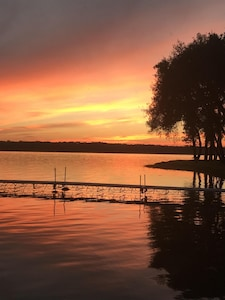 Sunset over Cedar