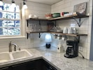 UPDATED KITCHEN WITH OPEN SHELVING