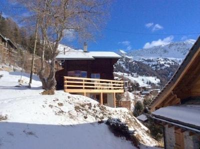Chandolin, Anniviers, Valais, Suisse