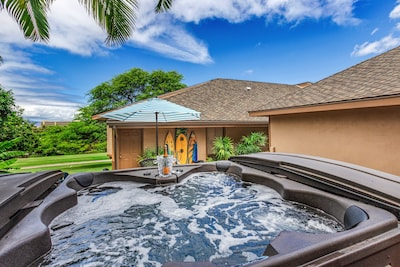 Enjoy the Spa and melt your worries away or take cool dip /1