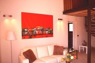 Casita La Siesta - living room