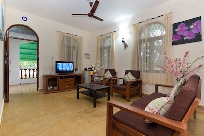 3bhk Pet Friendly villa in Calangute - Phase 6 (Discover luxury and extraordinary hospitality standards)