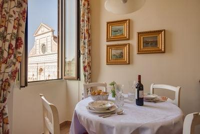 Basilika Santa Maria Novella, Florenz, Toskana, Italien