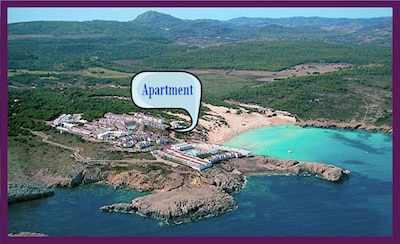Nice 2 Bedroom Apartment next to the Beach on the Golf/Beach resort of Son Parc.