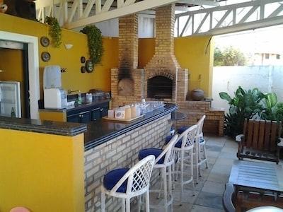Linda Casa de Praia Porto das Dunas muito próximo ao Beach Park