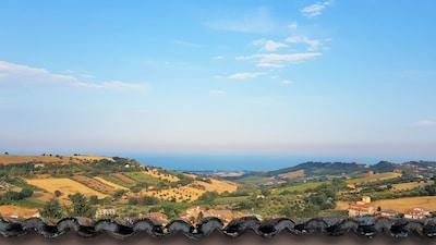 Colonnella, Abruzzen, Italien