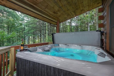 Hot tub - view 1