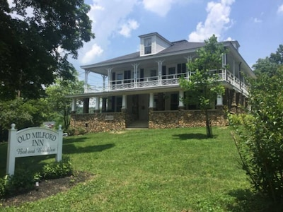 Historic Inn and beautiful grounds