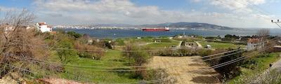 Talat Göktepe Monument, Eceabat, Canakkale, Turkey