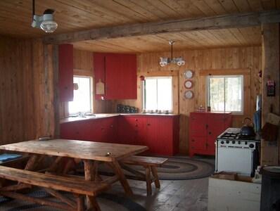 The Kitchen has all Propane Appliances