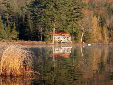 Secluded Cabin on Cobb Pond
