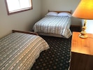 Bedroom #2 with a Double Bed and a Twin Bed