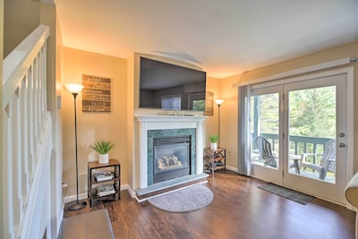 Call this serene townhome home while vacationing in Lake Placid, New York!
