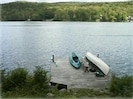 Just step out the door and swim, boat or fish from your private dock.