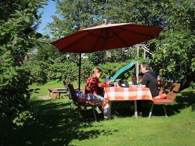 Ferienwohnungen Schmid Christa (Lam)-Garten