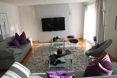 Wohnung 1, 100qm, viel Platz für große Familien-Wohnzimmer
