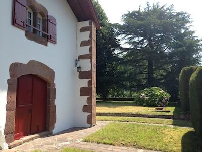 Uhaldia maison façade sud