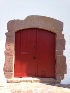 Porte fronton 1781
