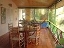Deck/dining area