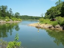 The natural cove is easy to walk or drive to and great for fishing and exploring