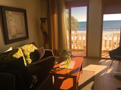 Lovely ocean view from your living room
