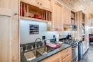 Full kitchen, granite ciunters,stove,toaster, coffeepot,hotpot,micro, fridge
