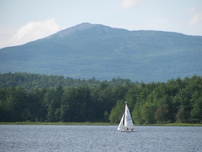 Mt. Monadnock from the shore