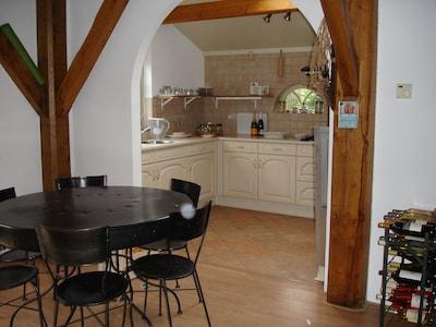 kitchen and diningarea
