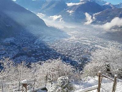 Chiavenna, Lombardie, Italie