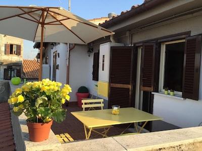 L'Attichetto di Zagarolo - Nel cuore della Strada del Vino dei Castelli Romani.