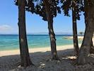 Strand in unmittelbarer Nähe